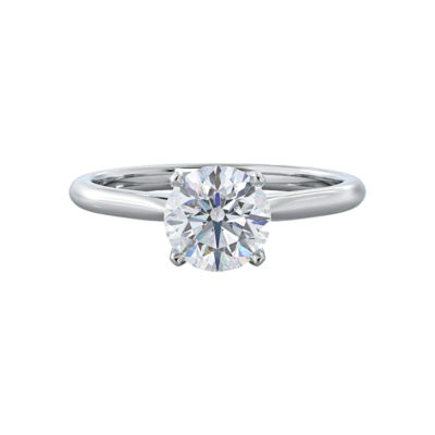 Lily Moissanite Engagement Ring
