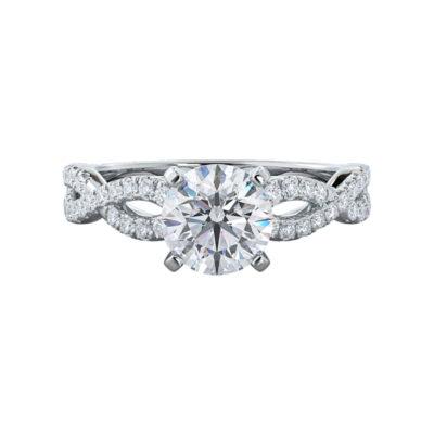Tamara Moissanite Engagement Ring
